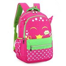 Kids Schoolbags for Boys&girls Cartoon Bookbags Satchel Mochila Orthopedic Waterproof Primary Escolar Backpack Infantil
