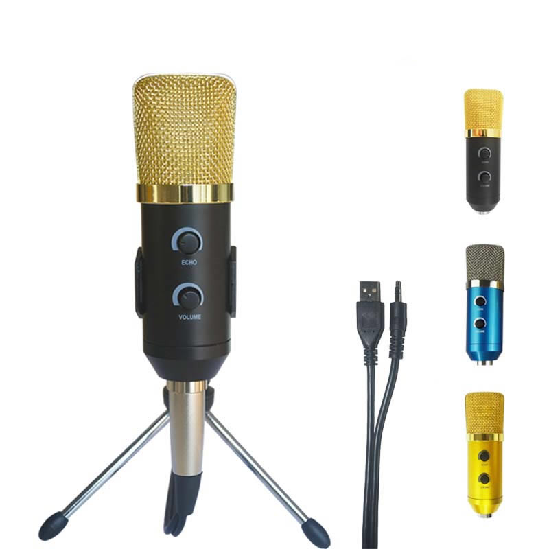 MK F100TL USB Condenser Microphone Professional Microphone for Video Recording Karaoke Radio Studio Microphone for Computer
