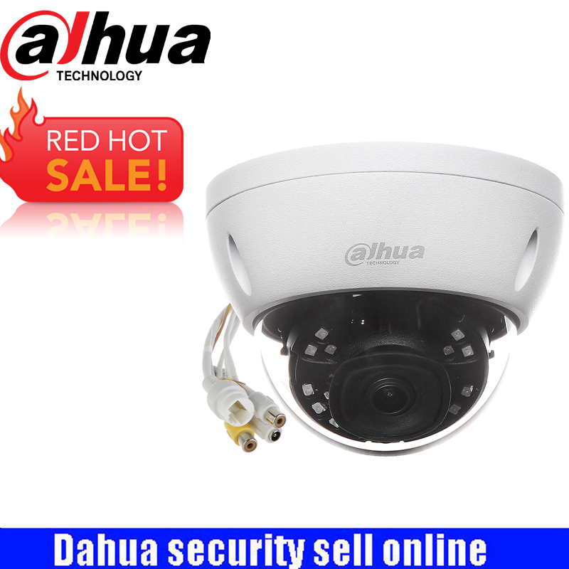 DAHUA Surveillance IP Camera 2MP IR Mini Dome Network Camera IP67 IK10 With POE With Logo IPC-HDBW4231E-ASE free shipping dahua cctv camera 4k 8mp wdr ir mini bullet network camera ip67 with poe without logo ipc hfw4831e se