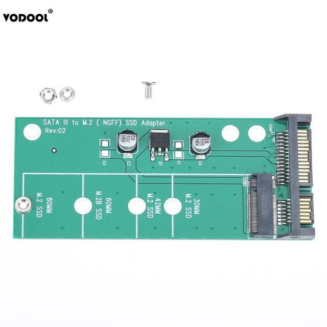 M.2 NGFF SATA SSD to SATA 3 SATA 2.5 Adapter Converter Card for 3cm 4.2cm 6cm 8cm M2 (NGFF) SSD Length