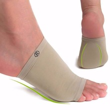 1 Pair Feet Care Pads Patch Socks Gel Plantar Fasciitis Arch Support