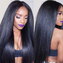 Yaki Human Hair Brazilian Hair Weave Bundles 3 Light Yaki Straight Hair Extensions 1 Piece Dolago Virgin Human Hair Products