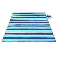 200x200Cm Waterproof Folding Picnic Blanket Outdoor Beach Mat Beach Blanket Sand Proof Extra Large Portable Hiking #8