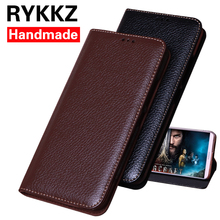 RYKKZ Luxury Leather Flip Cover For Asus Zenfone 5 6.2'' Protective Mobile Phone Case Leather Cover For Asus ZE620KL сотовый телефон asus zenfone 5 ze620kl 4 64gb midnight blue