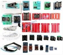 전체 V10.35 TL866II Plus TL866A TL866CS USB 범용 프로그래머 Bios/ECU 프로그래머 + 31 어댑터 1.8V nand08 flash 24 93 25 mcu