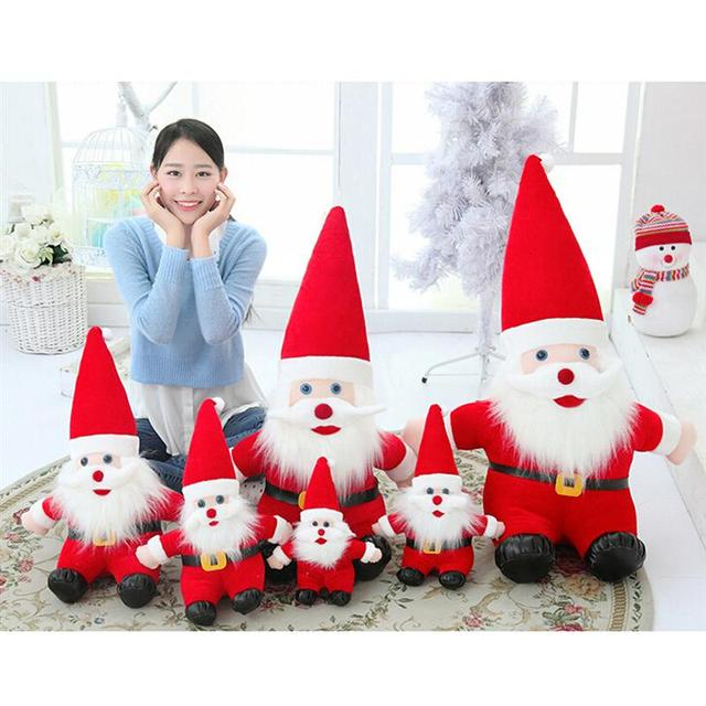 Father Christmas Images Free.Us 3 48 33 Off Free Shipping Multisize Christmas Santa Claus Plush Toy Father Christmas Stuffed Doll Baby Toys Xmas Decorations Festival Gift In