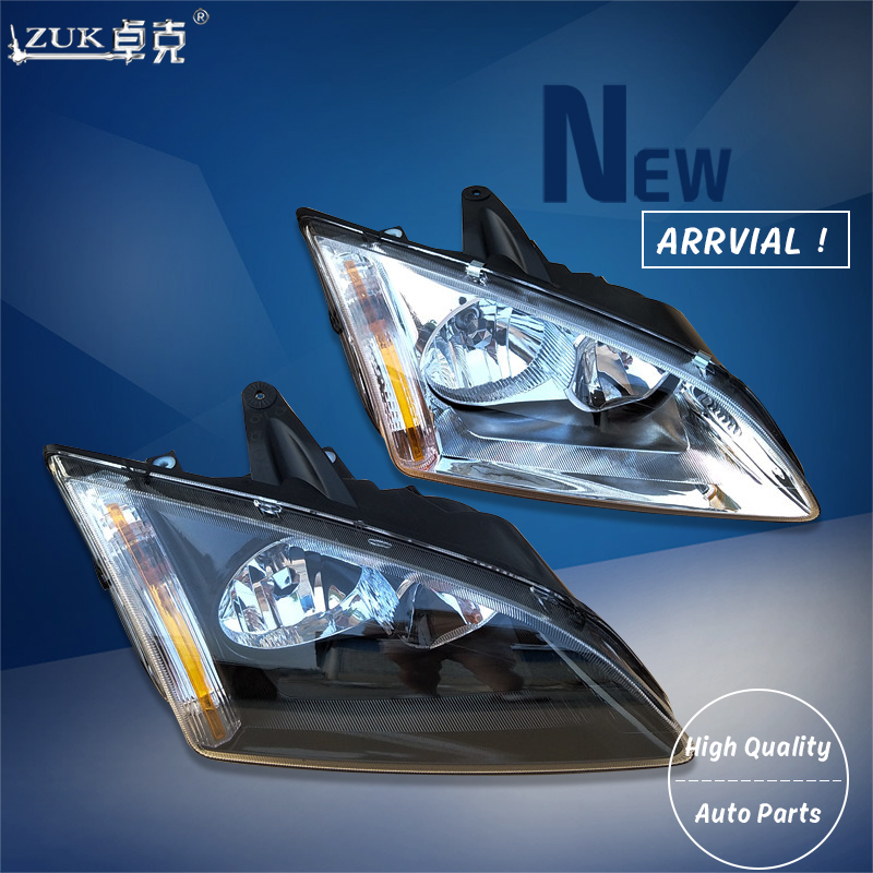 ZUK High Quality Left Right Front Headlight Headlamp Head Light Lamp For Ford Focus 2005 2008