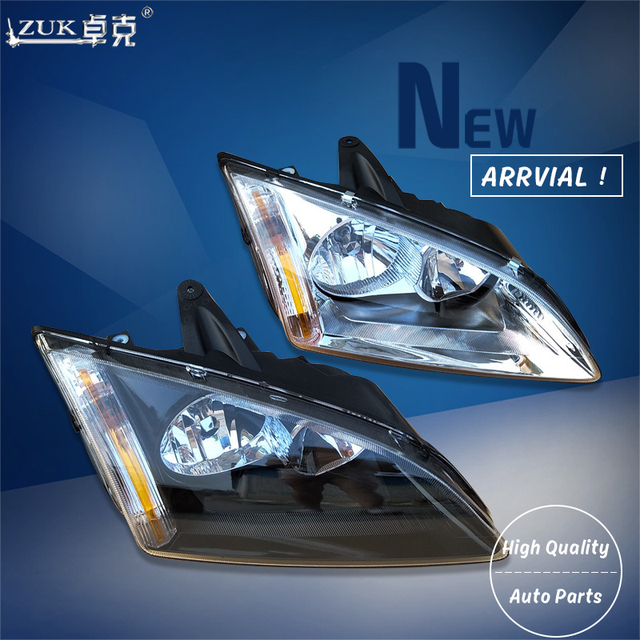 Zuk High Quality Left Right Front Headlight Headlamp Head Light Lamp For Ford Focus 2005 2008 Hatchback White Type Black In Car Embly From