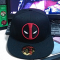 Deadpool Hip Hop Cap Snapback Summer Hat Baseball Caps For Men Women Hats Gorras Casual Bone Hot 2016 New Fashion