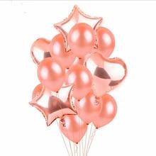 20PCS Gold Confetti Balloon Birthday balloons ramadan  wedding decoration babyshower latex balloon helium for balloons цена