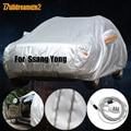 Buildreamen2  полное покрытие для автомобиля  водонепроницаемый  защита от солнца  снега  дождя  пыли  чехол для Ssang Yong Korando Actyon Rexton XLV Rodius Kyron