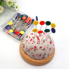 100 Pcs/Set 4 Styles Sewing Accessories Patchwork Pins Pin With Box DIY pins Quilting tools