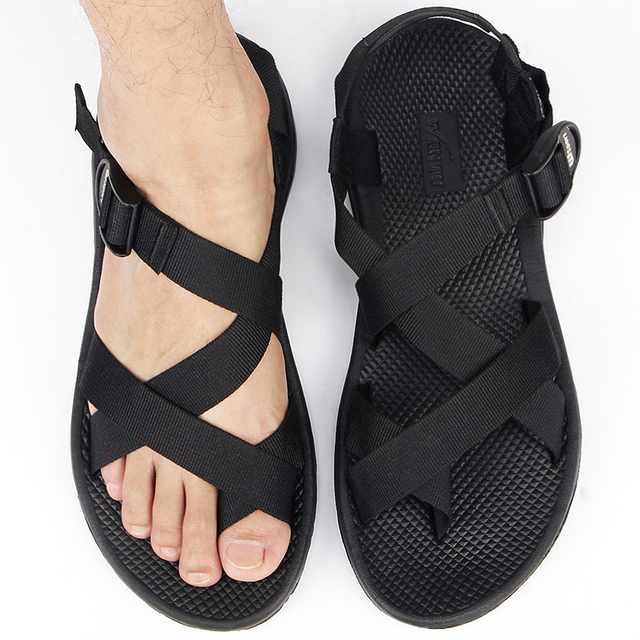 2016 summer new men slip beach sandals Rome fashion leisure trend SUB956