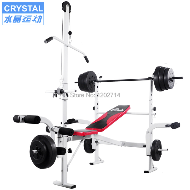 dumbbell fitness bench rack lifting goplus exercise weight barbell benches workout adjustable set