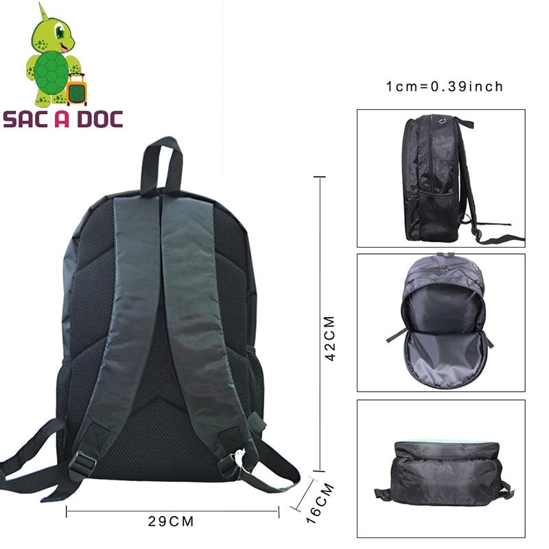 Anime Dragon Ball School Bag Teens Boys Girl Students Back To School Book Laptop Bag Super Saiyan Gohan Vegeta Printing Backpack #3