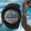 Transporte da gota Led Digital-relógio para Homens 50 M Dive Swim Vestido Sports Relógio de Pulso 4 Cores Ao Ar Livre Relógios Novo marca