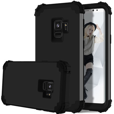 Heavy Duty Hybrid Case For Samsung Galaxy S9 S9Plus Shockproof Armor Rugged Case Cover Hard PC + Soft Rubber Silicone Phone Case (13)