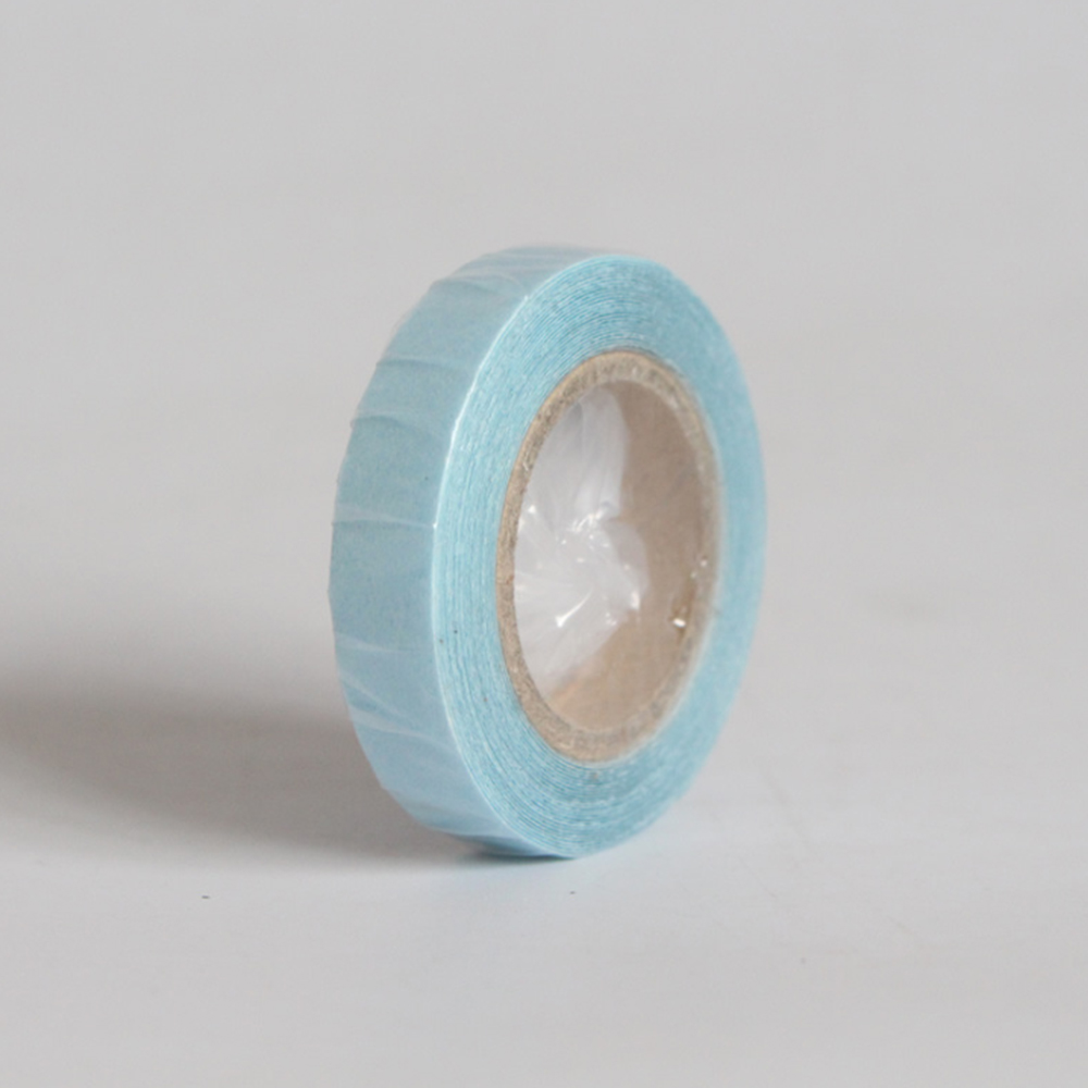 2019 Fashion 1 Roll Replacement Tape Hair Extension Double Sided Adhesive Lace Wig Toupee Blue Fixing Prices According To Quality Of Products