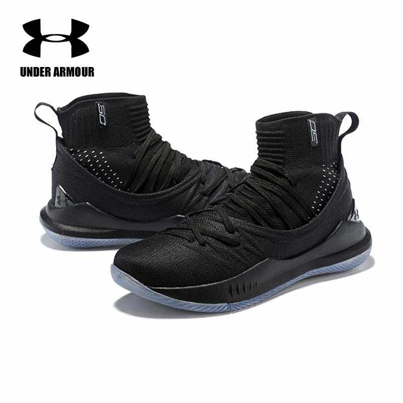 b93c20563aafb ... Under Armour Men Curry 5 Basketball Shoes stephen curry shoes tenis  basketball Fashion sock Sneaker Zapatillas ...