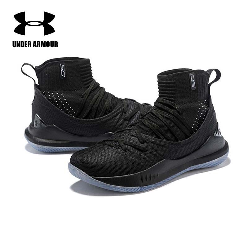 Under Armour Pria Curry 5 Sepatu Basket Stephen Curry Sepatu Tenis Basket  Fashion Kaus Kaki Sneaker Zapatillas Hombre Deportiva di Basketball Shoes  dari ... 91ef4dbcc1