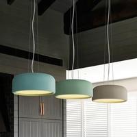 Modern Pendant Light Wood Light Aluminium Lampshade Nordic Style Suspension Luminaire Hanging Lamp Vintage Pendant Lamp