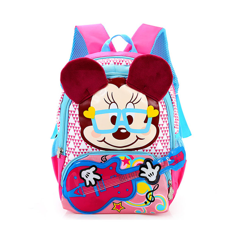 3ba97c53801 Cartoon mickey kids bag children backpacks kindergarten backpack kid school  bags for boys and girls free shipping-in School Bags from Luggage   Bags on  ...