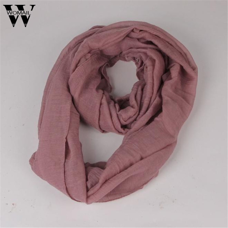 New Fashion Winter Women Scarf Long Candy Color Warm Soft Ring Scarves Amazing Aug 10