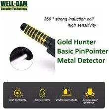 Gold Hunter basic pinpointer metal detector underground gold metal detector hand held metal detector treasure hunter