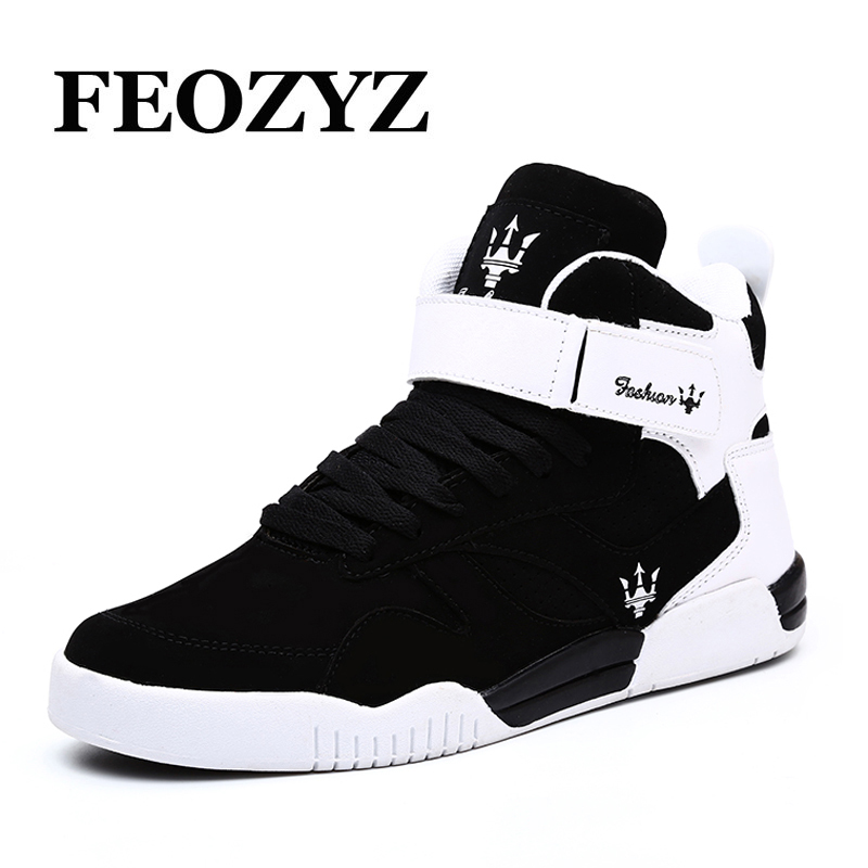 2017 New Brand High Top Skateboard Shoes Chaussure Sport Homme Skateboarding ShoesSneakers Men Sport Shoes