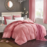 Doremi Washed Cotton And Thick Duck Down Comforters Double Feather Quilt Bedding Filling Blanket Quilt