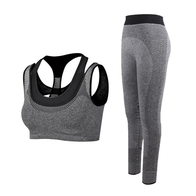 Women's Sports Nylon Sleeveless Clothes