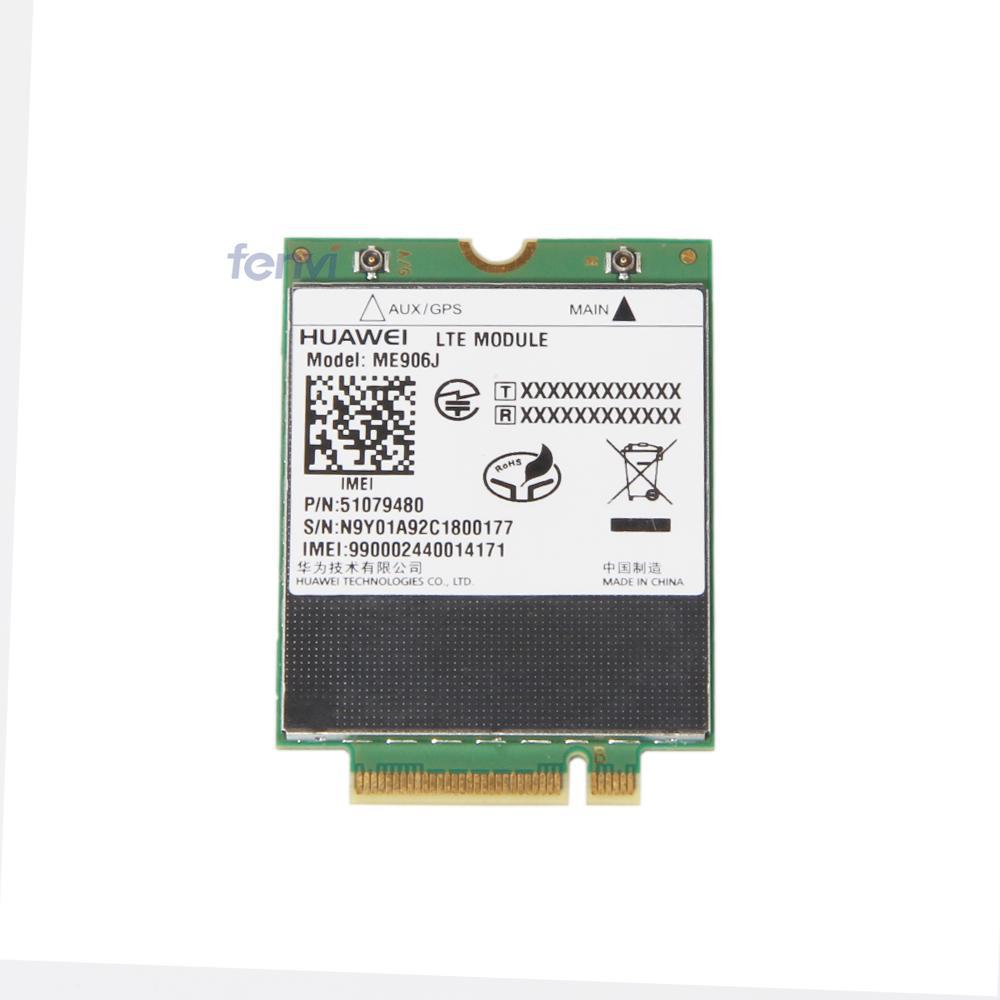 Unlocked HUAWEI ME906J 3G 4G WWAN LTE Module Quad-band WCDMA GPS NGFF internal Wireless M.2 card For Ultrabook/Notebook/tablet jinyshi for 68dp9 2pcs ngff m 2 ipex4 antenna 3g card for dell venue 8 and 11 pro em8805 wwan hspa ngff dw5570