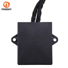 POSSBAY CDI Ignition Control Module Box Motorcycle Parts fit for Yamaha Banshee 350 YFZ350 1997-2006 ATV Dirt Bike Scooter Part