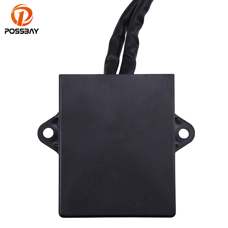 POSSBAY CDI Ignition Control Module Box Motorcycle Parts fit for Yamaha Banshee 350 YFZ350 1997 2006 ATV Dirt Bike Scooter Part