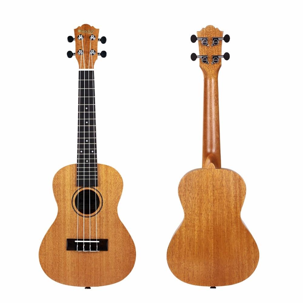 Escolha para Iniciantes Ukulele Soprano Uke Guitarra para