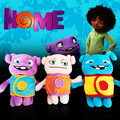 2015 dreamworks Movie HOME - OH Boov Rainb Plush Soft Toy - Captain Smek animation in Europe Plush Toy Birthday Gift  baby Toy