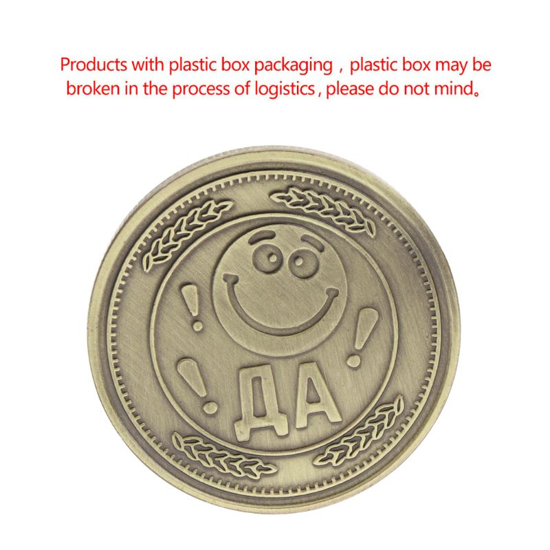 Commemorative Coin Smile Sad Happiness Sadness Sorrow Face Collection Antique Color Souvenir Gifts Art Crafts