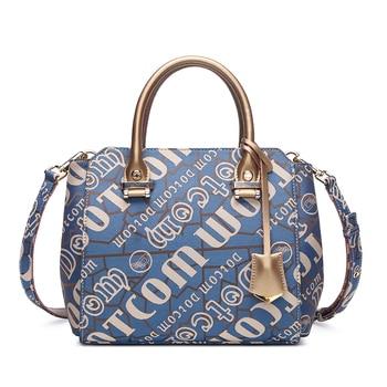 2018 New Arrival Real Direct Selling Versatile Letter Fashion Women Handbags Shoulder Bags Messenger Bag Flowers B0001-6