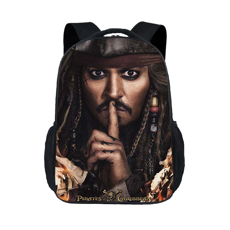 a2778697dd0e New Fashion Children s Cartoon Bag Caribbean Pirates Jack Captain Print  Cool Personality Pupils School Bag Kindergarten. US  18.69. Fabre Backpack  ...