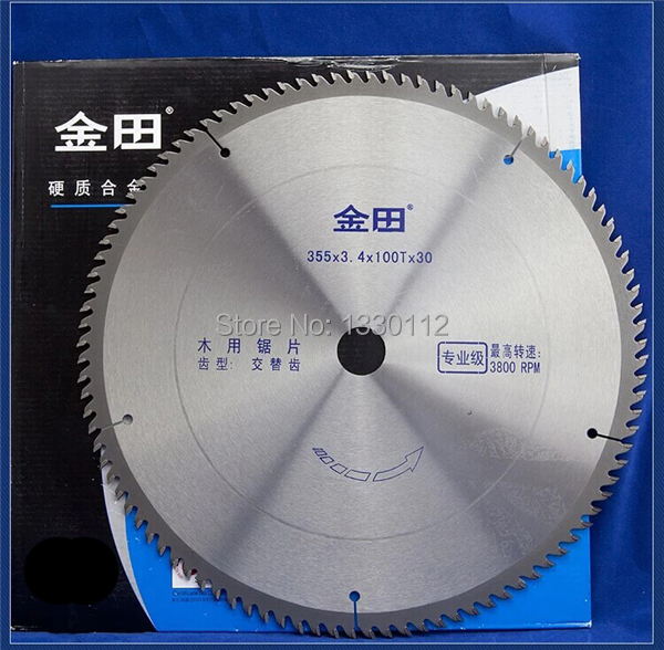 1pcs 14 355x100T circular saw blade for wood cutting plywood board sheet plate wood board suitable for wood saw free shipping free shipping 12 300x3 2x100tx25 4 30 wood cutting saw blade for chipboard shaving board with other sizes of saw blades