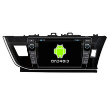 ROM 16G Quad Core 1024*600 Fit Toyota COROLLA 2014 2015 Right Driving  Android 5.1.1 Car DVD Player Navigation GPS 3G Radio