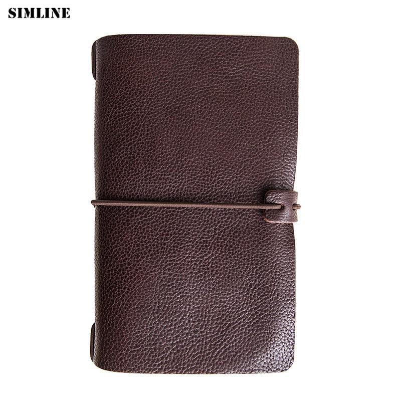 Véritable cuir hommes portefeuille pochette Vintage à la main Long sac à main organisateur voyage grand portefeuille porte-carte pour passeport poche de monnaie