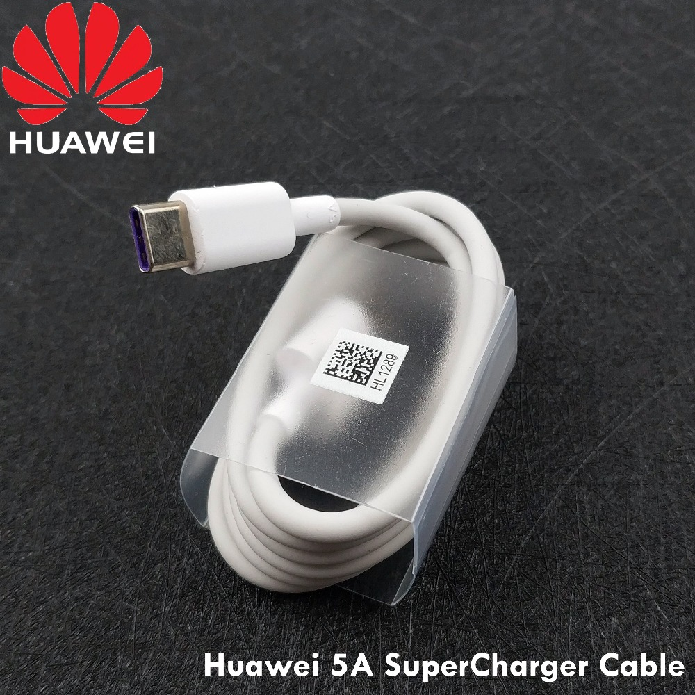 Huawei Cable Supercharge Honor Mate9 Usb type-C 1 for P20 P10 Honor/10-Mate-10 White