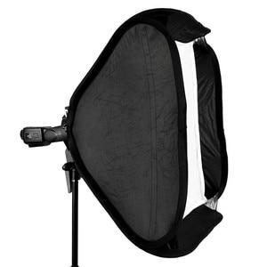 Image 5 - Godox Softbox 80x80 cm Diffuser Reflector voor Speedlite Flash Light Professionele Photo Studio Camera Flash Fit Bowens Elinchrom