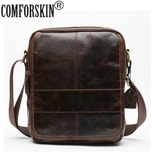 Retro Men Messenger Bags 2017 New Arrivals 100% Premium Cow Leather European American Brand Designer Vintage Men Crossbody Bags все цены