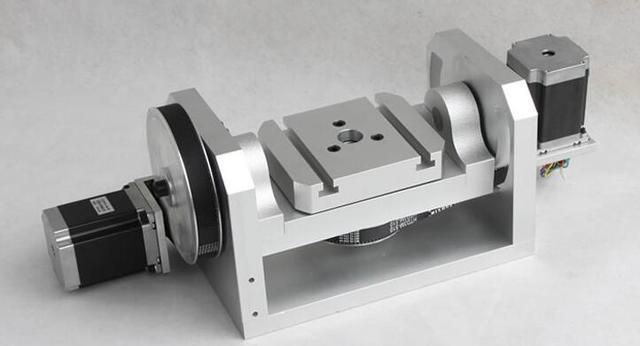 CNC cabeza divisoria, un eje giro rotación, un cuarto eje, el quinto ...