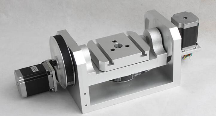 CNC dividing head, A shaft rotation turn, a fourth axis, the fifth axis