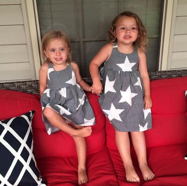 Grey Dresses for Little Girls