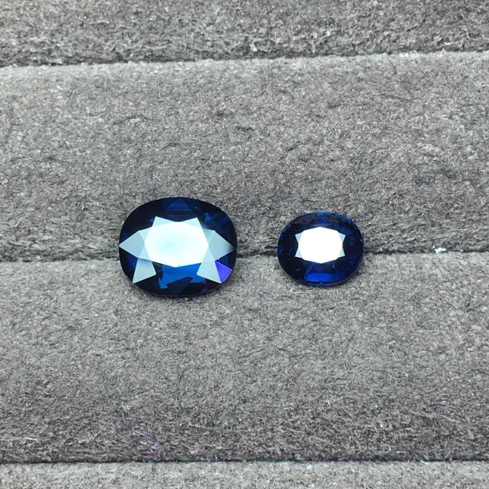 Sapphire 3.57ct NaturalNo Indication UnHeated Royal Blue Sapphire Stone Loose GemstonesSapphire 3.57ct NaturalNo Indication UnHeated Royal Blue Sapphire Stone Loose Gemstones
