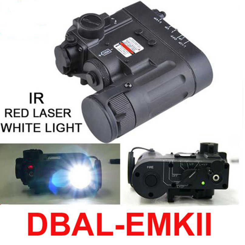 Tactical Hunting And Emkii D2 Light Dbal Ex328 Ir Torch Element Weapon Laser Flashlight Led eCWBrdxo